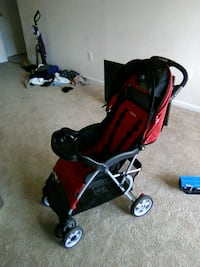 baby's red and black stroller Rockville, 20851