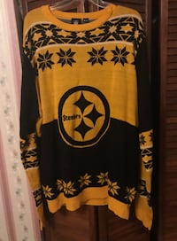 Pittsburgh steelers 2xl ugly sweater new