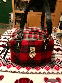 Red plaid Juicy Couture Purse Jacksonville, 72076