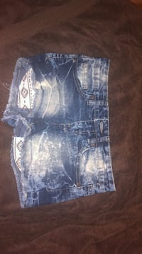 distressed blue denim short shorts Halifax, B3P 2T9