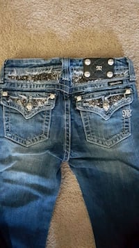 Miss Me jeans, girls size 14 London