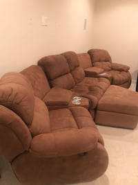 6 piece theater couch set.  Bowie, 20720