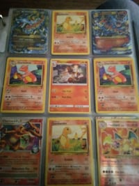 nine assorted Pokemon trading cards Marmet, 25315