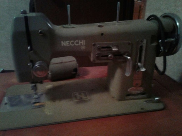 Used Nechi Italian Sewing Machine For Sale In Carrollton Letgo Classy Italian Sewing Machine