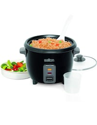 Salton RC1653 Automatic Rice Cooker, Stainless Steel Markham, L6E 1R3