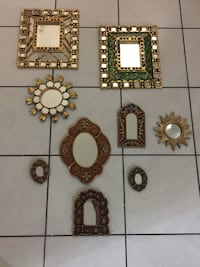 assorted-color framed mirrors West Kendall, 33193