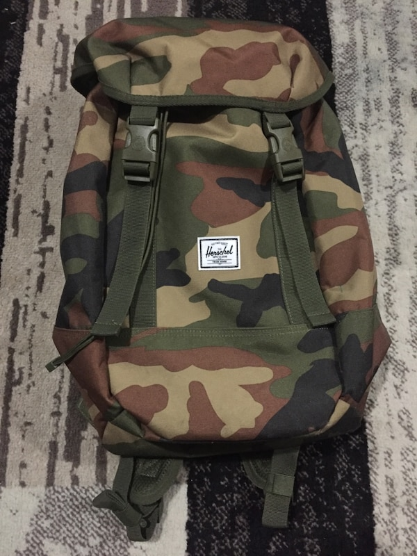 Camo Herschel backpack (brand new with tags)