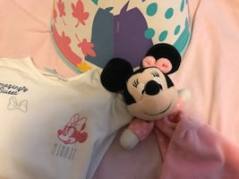 Minnie Mouse tshirt18M, tutu &Lampshade together for $10 or separate$5