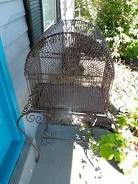 large steel bird Cage 40 + in high. sits on stand. can be temoved. Woodbridge, 22193