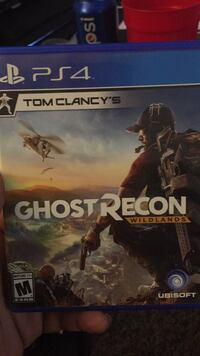 Sony PS4 Ghost Recon game case Louisville, 40229