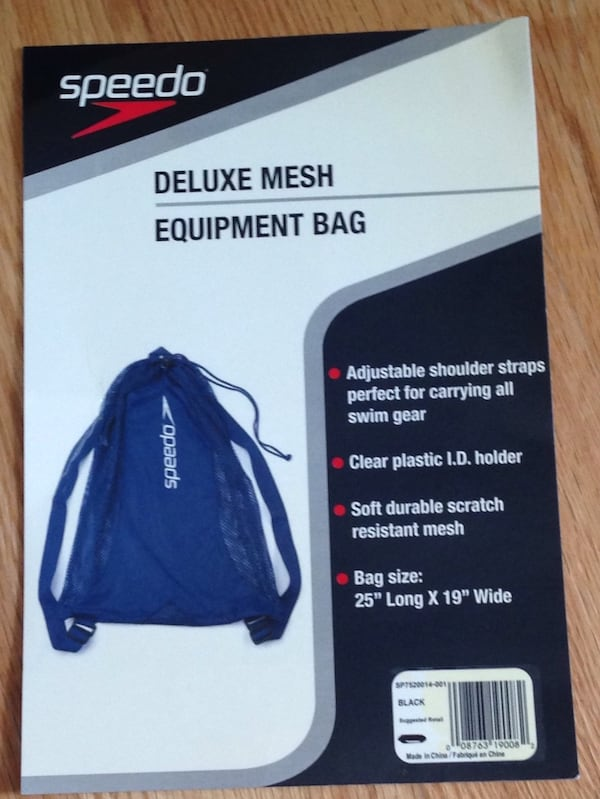 Brand New with tags Deluxe Mesh Speedo Equipment Knapsack. 2891e456-6179-457a-ac58-3b29d74833dc