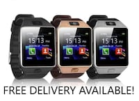 three assorted-color smartwatches 3725 km