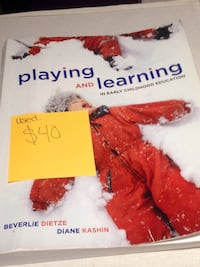 Early Childhood Education Textbooks Kitchener, N2R 1W9