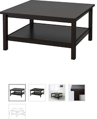 Ikea Hemnes black/brown coffee table Gainesville, 20155