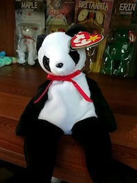 fb14294f942 Used panda ty beanie baby for sale in Hot Springs - letgo