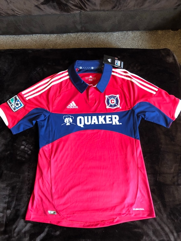 the best attitude dccbb 5f6ac Chicago Fire Vintage Adidas Soccer Jersey