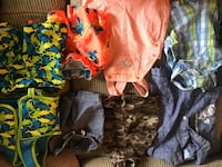 Summer lot toddler rompers/shorts/swim suit Calgary, T2Y