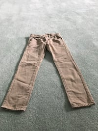 American Eagle outfitters size 26 x 28 jeans straight leg light brown