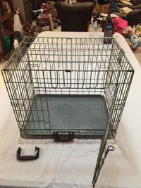 Small Dog Cage - with pan. Great condition.