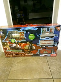 Christmas Train set New Port Richey