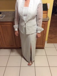 Long dress with jacket - pale blue - price reduced to $3o Cleveland, 44135