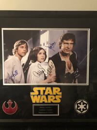 Autographed Star Wars Photo Calgary, T2Z
