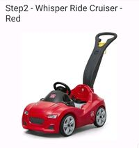 Step 2 whisper ride on toy car