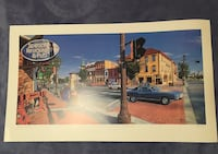 """Limited Edition Print """"Strathcona Hotel on Whyte Avenue""""by Jack Martel Edmonton, T6H 4Y7"""