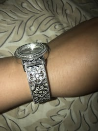 Silver color hand watch Irving, 75063