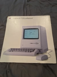 Old Apple Macintosh cardboard add Langley, V3A 6R9
