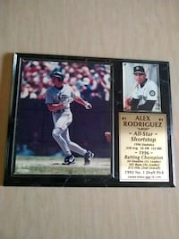 Alex Rodriguez Seattle limited edition plaque Whittier, 90604