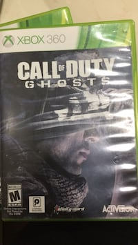 Call of duty ghosts Xbox 360 Springfield, 22152