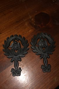 Vintage miniature black cast iron trivets Martinsburg, 25405