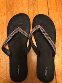 Beaded flip flops size 10 Ashburn, 20147