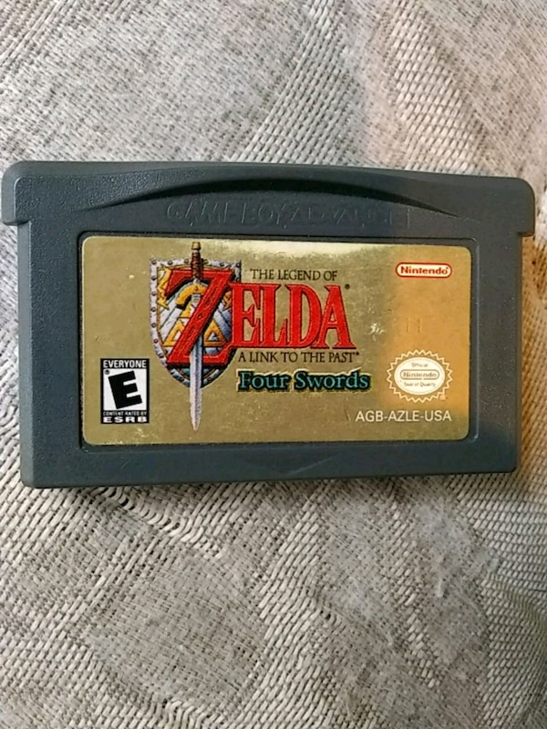 The legend of Zelda a link to the past gba