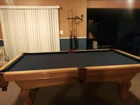 Mahgoney Oak Wood Pool Table Fredericksburg, 22406