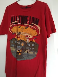 all time low band shirt