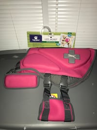 TOP PAW LARGE NEOPRENE LIFE JACKET FOR DOGS 55 - 85 LBS NEW