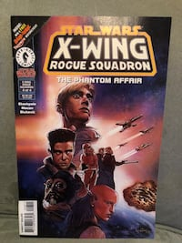 Star Wars: X-Wing Rogue Squadron,  #8, Jun '96  Richmond Hill, L4S 2P8