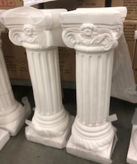 Brand new Roman posts $35.00 each and $60.00 a pair  Waldorf