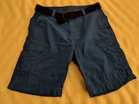 Nautica Men's Blue Cargo Shorts Ashburn