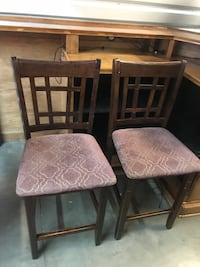 Counter height bar stools 4 total