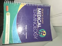 Medical terminology book