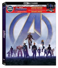 Avengers: Endgame Steelbook (4K Ultra HD Blu-ray) - SEALED Mississauga