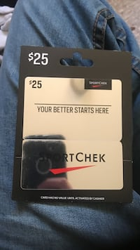 Sport check gift card