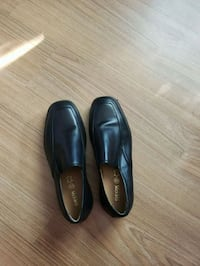 pair of black leather dress shoes Toronto