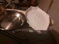 two white ceramic bowl and bowl Winnipeg, R2K 3S2