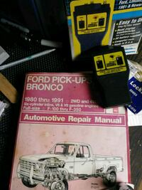 FORD PU BRONCO 80-91 Hanyes Repair &  code scanner Louisville, 40214