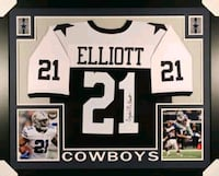 Cowboys NFL authentic jersey with player signature Cabot, 72023