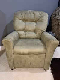 Suede Childrens Reclining Chair Nottingham, 21236